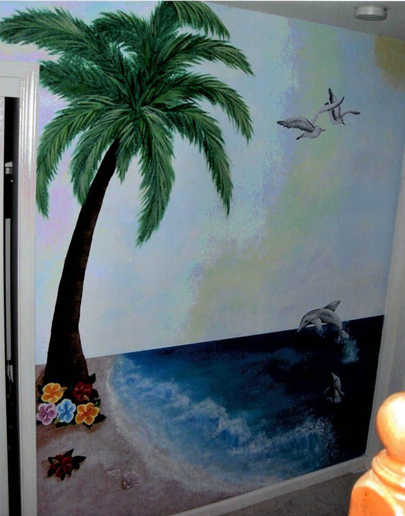 Hawaiian Beach Bedroom