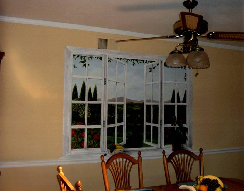 Dining Room Garden Window