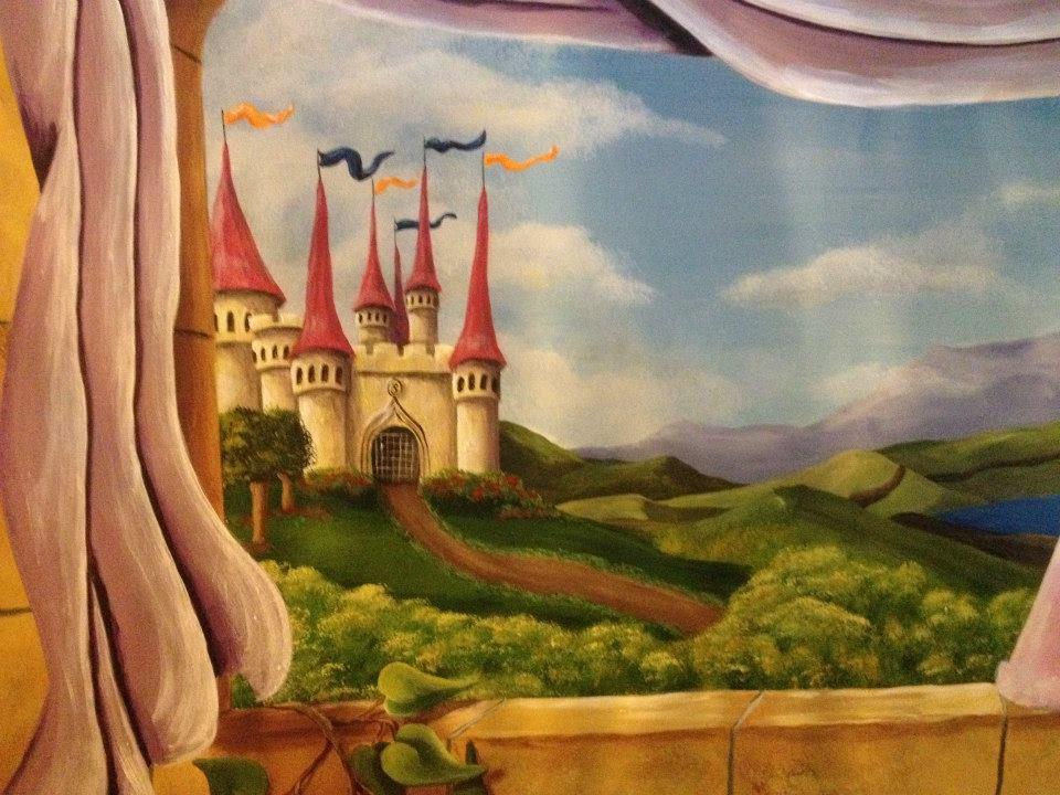 Princess Castle-View Window
