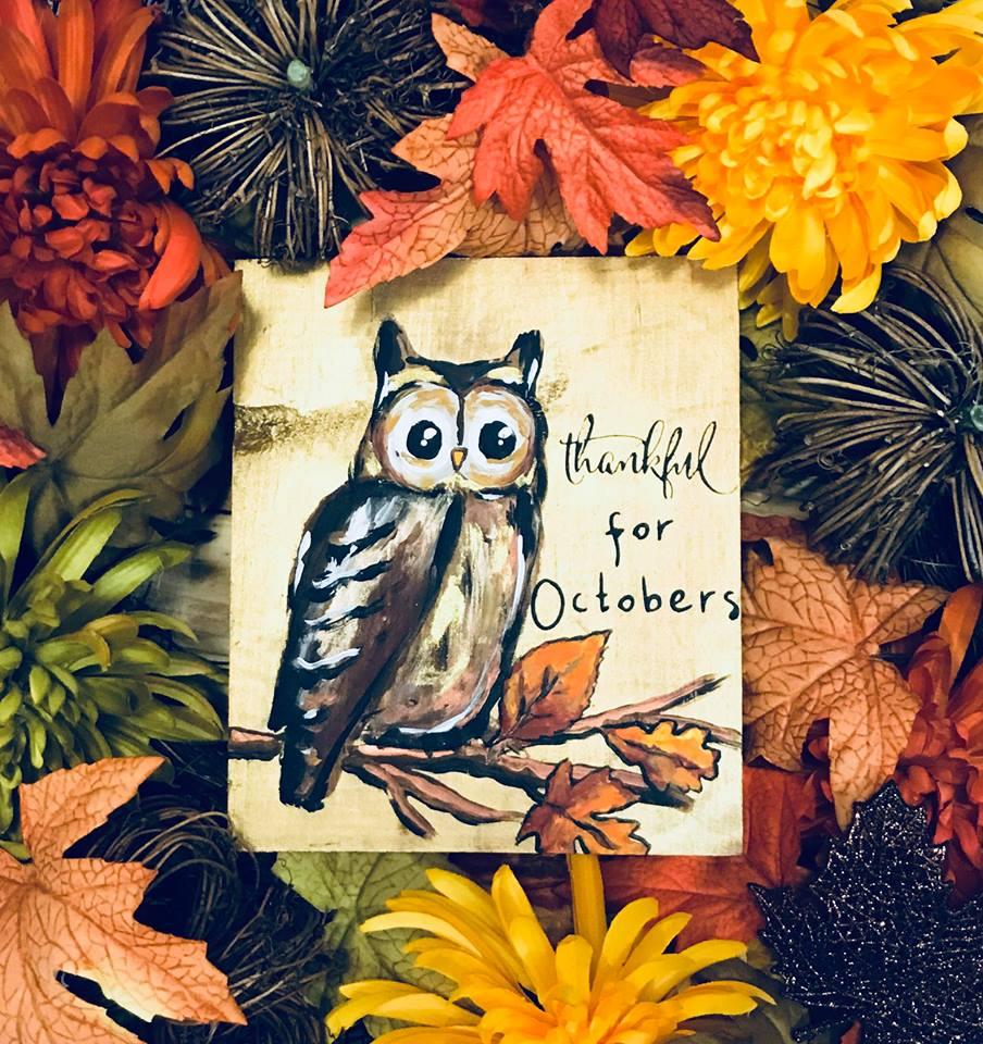 THANKFUL OWL