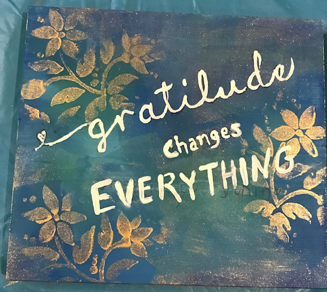 PAINTED QUOTES - EXAMPLE